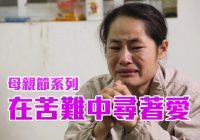 母親節系列 – 在苦難中尋著愛